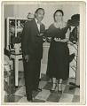 View Photograph of Joel and Mae Reeves in Mae's Millinery Shop digital asset number 0