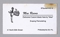 View Business cards from Mae's Millinery Shop digital asset number 5