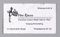 View Business cards from Mae's Millinery Shop digital asset number 6