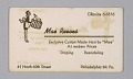 View Business cards from Mae's Millinery Shop digital asset number 8