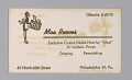 View Business cards from Mae's Millinery Shop digital asset number 7