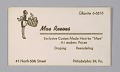View Business cards from Mae's Millinery Shop digital asset number 3