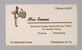 View Business cards from Mae's Millinery Shop digital asset number 4