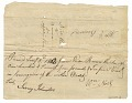 View Letter and payment receipt for hire of enslaved persons owned by Apphia Rouzee digital asset number 1