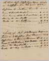View Account of hires of enslaved persons belonging to Apphia Rouzzee for 1812 digital asset number 2