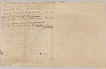 View Accounting record for the Rouzee family with notes on hires of enslaved persons digital asset number 1