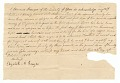 View Bond for the hire of the enslaved man Jacob by Edward Rouzee digital asset number 0