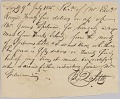 View Payment receipt for $25 for bringing an enslaved man from Turks Island digital asset number 2