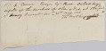View Bill of sale for the purchase of 'Old Ned' by Edward Rouzee digital asset number 0