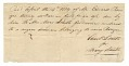 View Payment receipt for the hire of a woman enslaved and owned by Edward Rouzee digital asset number 1