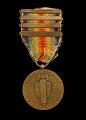 View U.S. World War I Victory medal issued to Cpl. Lawrence Leslie McVey digital asset number 1