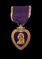 View Purple Heart medal issued to Cpl. Lawrence Leslie McVey digital asset number 0