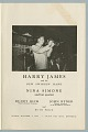 View Program for a performance by Harry James and Nina Simone in Montreal digital asset number 0