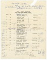 View Itinerary for Nina Simone's tour with Harry James digital asset number 0