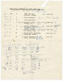 View Itinerary for Nina Simone's tour with Harry James digital asset number 1