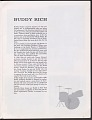 View Program for Harry James and Nina Simone with Buddy Rich, Ruth Price, John Byner digital asset number 8