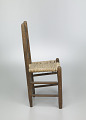 View Chair with corn husk seat woven by Johnnie Ree Jackson digital asset number 2