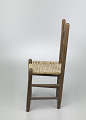 View Chair with corn husk seat woven by Johnnie Ree Jackson digital asset number 4