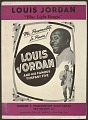 """View <I>Louis Jordan """"Blue Light Boogie"""": Mr. Personality, In Person!</I> digital asset number 0"""