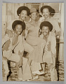 View Photographic print of four men and one woman digital asset number 0