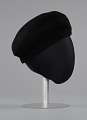 View Women's US Army Service beret worn by Brigadier General Hazel Johnson-Brown digital asset number 5