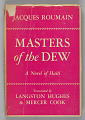 View <I>Master of the Dew: A Novel of Haiti</I> digital asset number 0