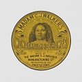 View Tin for Madame C.J. Walker's Wonderful Hair Grower digital asset number 0