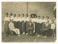 View Photograph of Lucille Brown and Elder Brown among others digital asset number 0