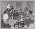 View Photograph of seven of the Little Rock Nine meeting at the home of Daisy Bates digital asset number 0
