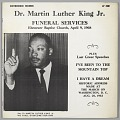 View <I>Dr. Martin Luther King Jr. Funeral Services</I> digital asset number 0