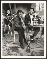 View <I>James Baldwin in Emirgan tea house trying hookah, Istanbul 1965</I> digital asset number 0