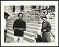 View <I>James Baldwin feeding pigeons, Eminonu, Istanbul, 1965</I> digital asset number 0
