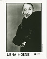 View Photograph of Lena Horne in a fur coat digital asset number 0