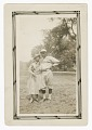 View Photograph of a male baseball player and a woman digital asset number 0