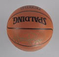 """View Basketball signed by members of the U.S. """"Dream Team"""" digital asset number 7"""
