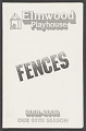 View Theatre program for Fences digital asset number 0