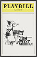 View Playbill for The First Breeze of Summer digital asset number 0