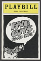 View Playbill for Five Guys Named Moe digital asset number 0