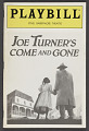 View Playbill for Joe Turner's Come and Gone digital asset number 0