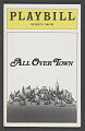 View Playbill for All Over Town digital asset number 0