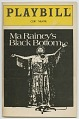 View Playbill for Ma Rainey's Black Bottom digital asset number 0