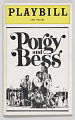 View Playbill for Porgy and Bess digital asset number 0