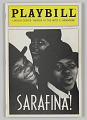 View Playbill for Sarafina! digital asset number 0