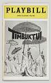 View Playbill for Timbuktu! digital asset number 0
