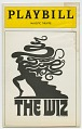 View Playbill for The Wiz digital asset number 0