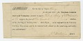 View Bond for the hire of enslaved man named Harry by the Virginia Central Railroad digital asset number 1