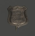 View Shield-shaped identification pin for William H. Clay digital asset number 0