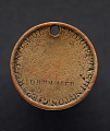 "View Identification tag for drummer ""George Washington,"" with American eagle digital asset number 1"