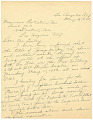 View Letter to the Musicians' Protective Association from Duke Ellington digital asset number 0