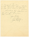 View Letter to the Musicians' Protective Association from Duke Ellington digital asset number 2